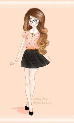 Zoella  by ~DebbyArts by DebbyArts.deviantart.com on @deviantART