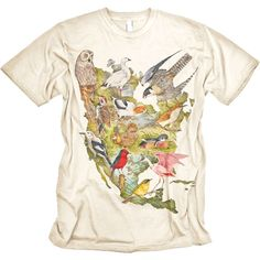31f4a042a Birds of North America Tshirt Vintage Graphic Design, North America, Cool T  Shirts,