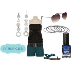 Night out, created by monamonet33 on Polyvore