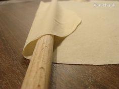 Yufka (fotorecept) - Recept Bread And Pastries, Rolling Pin, Rolls, Cooking, Cuisine, Kitchen, Bread Rolls, Brewing, Dinner Rolls