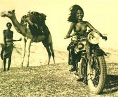 Photo by Peter Beard Peter Beard, Biker Chick, Biker Girl, Motos Retro, Scooter Moto, Lambretta, Tribal Women, African Girl, Fauna