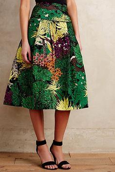 Rainforest Skirt #anthropologie