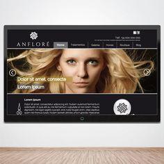 Diseño y programación  www.anflore.es (proyecto) www.monoermo.com