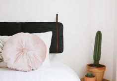 A Pair & A Spare | DIY Cushion Headboard (An Easy Ikea Hack!)