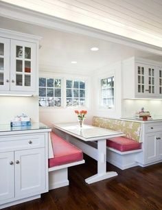 Kitchen Booth Design Traditional By The Might Break Up Area Between