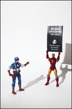 Recrutement - toujours sur le thème des super héros c'est la journée !