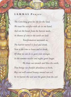 Lammas prayer*
