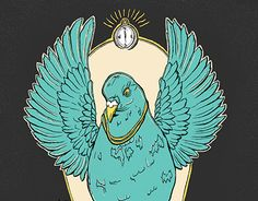 """Check out new work on my @Behance portfolio: """"The pigeon religion"""" http://be.net/gallery/59592819/The-pigeon-religion"""