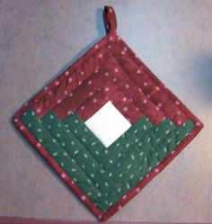 This was also made for a Treadle on Swap the white square was for our signatures.