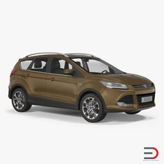 Ford Kuga FWD 2016 3d model (Simple Interior)