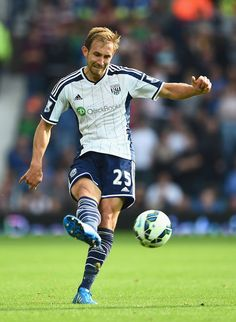 Sept. 28th. 2014: Craig Dawson Craig Dawson of West Bromwich Albion in action during the Barclays Premier League match between West Bromwich Albion and Burnley at the Hawthorns