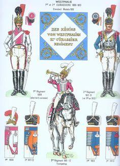Westphalia 2ème Regiment de cuirassés