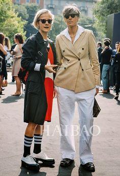 时尚顾问Bettina Oldenburg和Ana Gimeno Brugada
