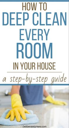14 Clever Deep Cleaning Tips & Tricks Every Clean Freak Needs To Know Deep Cleaning Tips, Cleaning Checklist, House Cleaning Tips, Cleaning Solutions, Spring Cleaning, Cleaning Hacks, Cleaning Schedules, Monthly Cleaning Schedule, Cleaning Room