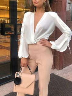 Winter brunch outfit classy blouses 66 Ideas for 2019 Office Outfits Women, Business Casual Outfits, Professional Outfits, Mode Outfits, Classy Casual, Classy Outfits, Chic Outfits, Trendy Outfits, Fashion Outfits