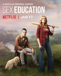"Netflix US on Instagram: ""she doesn't even van gogh here....Sex Education returns jan 17 🎨"""