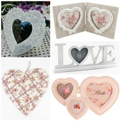 Gorgeous heart shaped gifts & accessories for the home Shabby Chic Kitchen Accessories, Vintage Style, Vintage Fashion, Shabby Chic Homes, Love Photos, Tree Branches, Country Style, Heart Shapes, Wedding Gifts