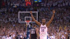 WCF!  Kevin Durant