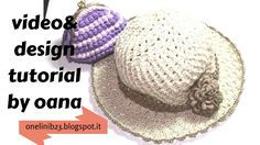 cappello Gelsomino all'uncinetto