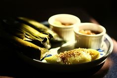 suman batangas with coconut sauce!