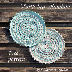 North Sea Mandala Motif By Tatsiana - Free Crochet Pattern - (lillabjorncrochet)