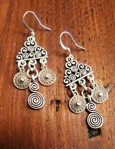 Σκουλαρικια boho  με σπιρες 11€  fotinimamali@yahoo.gr  #foto jewels Drop Earrings, Boho, Jewelry, Jewlery, Jewerly, Schmuck, Drop Earring, Bohemian, Jewels