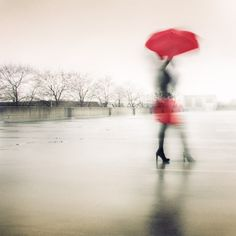Whenever it rains, 2013 - by Tatiana Avdjiev, USA Snap Photography, Creative Photography, Amazing Photography, Street Photography, Portrait Photography, Red Umbrella, Under My Umbrella, Street Image, Walking In The Rain