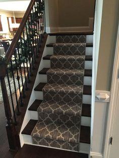 Taza carpet on stairs Tuftex Carpets of California