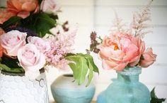 DIY bouquet by The Cut Flower Project   photo by Emily Quinton   west elm