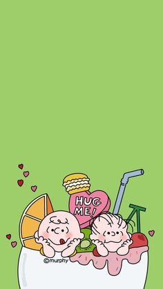 Pig Wallpaper, Snoopy Wallpaper, Cute Anime Wallpaper, Cute Cartoon Wallpapers, Wallpaper Backgrounds, Iphone Wallpaper, Charlie Brown, Cartoon Caracters, Minimalist Wallpaper