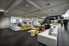 Unique suspended ceiling / collaborative space / Geyer