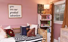 five tips for transitioning to a toddler bed + a room reveal.