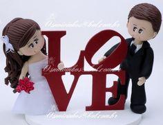 topo de bolo engraçado para casamento - Pesquisa Google
