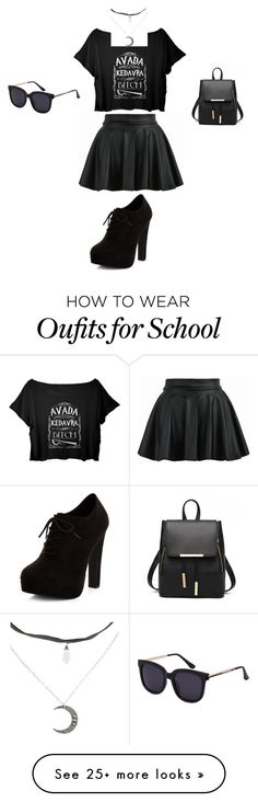 """Last Day of School!"" by animeworld on Polyvore featuring New Look"