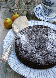 Pear Chocolate Cake – Vegan