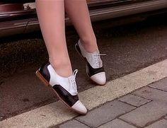 Audrey Horne. #twinpeaks #oxfords #saddleshoes
