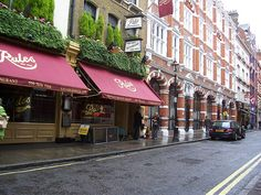 Rules ... London's oldest restaurant