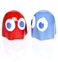 Pac-Man Ghost Salt And Pepper Pots #TSVDAYCOMP