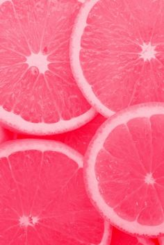 Pink grapefruit. #pink #colourinspo