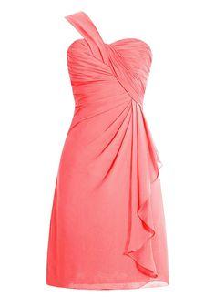 Robe de cocktail rose amazon