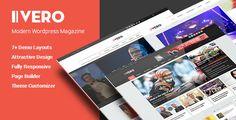 Vero - Responsive Blog & Magazine WordPress Theme
