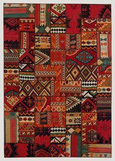 African fabric quilt idea