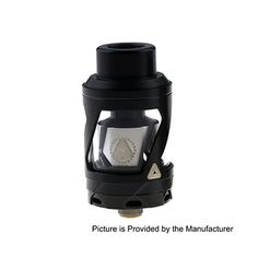 Limitless Hextron Style 24mm RTA Rebuildable Tank Atomizer - Black - #Limitless #Hextron #RTA #vape #Black