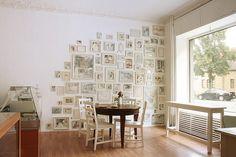 gallery wall :: coffee shop