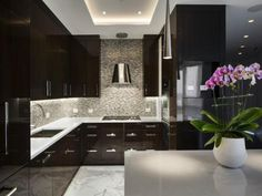 luxury modern kitchen manhattan