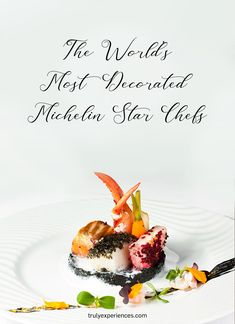 The worlds most decorated Michelin Star chefs Asian Restaurants, French Restaurants, Experience Gifts, Michelin Star, Best Dining, Chefs, London, World, Drinks