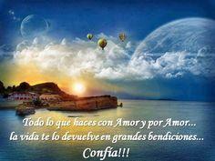 Todo lo que haces con amor. www.oasisgonzalogallo.com
