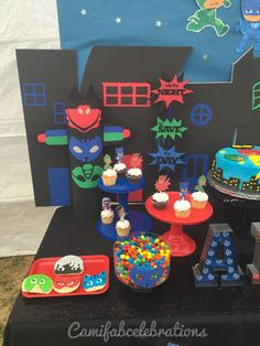 Pj masks birthday party decor ideas