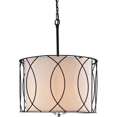 You'll love the Arke 3-Light Drum Pendant at Wayfair - Great Deals on all Lighting products with Free Shipping on most stuff, even the big stuff.