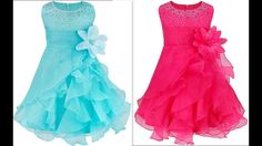 How to make quinceanera ruffled organza dress with rhinstones & Hand mad...